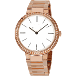 swiss watch in rose gold and diamonds- horlogerie