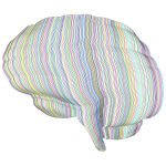 Prismatic Brain Stylized No BG