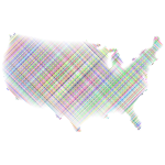 Stylized America Grid Design No BG