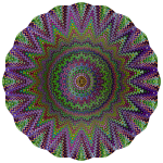 Mandala Ornament Color Pattern (#2)