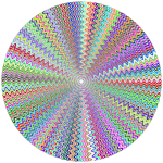 Dense Stylized Starburst Prismatic