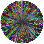 Dense Stylized Starburst Type II Chromatic