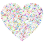 Alphabet Heart Polychromatic No BG