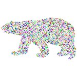 Polar Bear Random Particles Prismatic