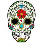 Day Of The Dead Sugar Skull 2
