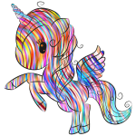 Cuddly Unicorn By Annalise1988 Polychromatic Waves