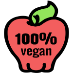 Isolated Vegan Icons 4
