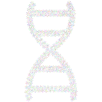 Abstract Molecular DNA Prismatic