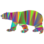 Polar Bear Low Poly