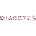 Diabetes Medical Icons