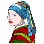Girl With Pearl Earring By GimpWorkshop