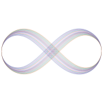 Abstract Prismatic Infinity Symbol V