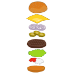 Parts of a Hamburger