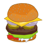 Hamburger sandwich