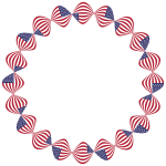 American Flag Twist Frame