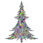 Abstract Christmas Tree Mesh