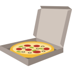 Pizza in box (#2)