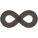 Dense Checkerboard Infinity Symbol Polyprismatic