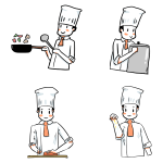 Cartoon Chef Illustrations