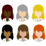 Female Doctor Avatars By Orchid Dior