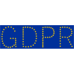 GDPR Made With Stars - Free SVG