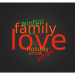 Holiday Wordcloud