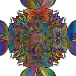 Line Art Design By Claudette Gallant Polyprismatic
