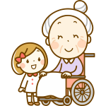 Granny in a Wheelchair
