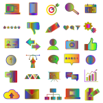 Icons By ShariJo Polyprismatic
