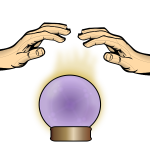 Crystal Ball with Hands