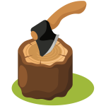 Hatchet and Stump (#2)