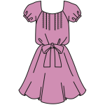 Pink dress clothing
