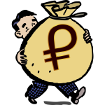 Guy With a Big Bag of Petro Coin