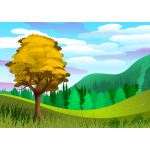Simple tree landscape 12022019