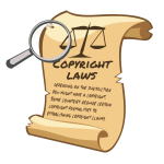 Copyright Laws Scroll