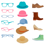 Glasses Hats And Shoes