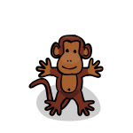 Cartoon monkey-1574676377
