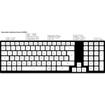 Compact Computer Keyboard UK