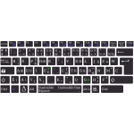 Layout base bépo keyboard Asus K93SM