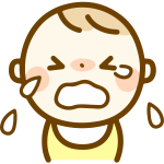 Boy crying cartoon image