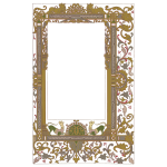 Vintage Ornate Border Frame