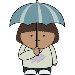 Umbrella kid