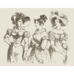 Three Stylish Women