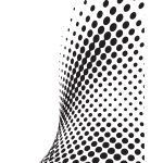 Halftone pattern graphics