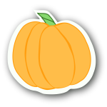 Pumpkin Sticker