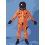 NASA Orange Spacesuit