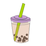 Bubble Tea Cup