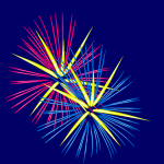 Animated Fireworks 2