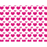 Love hearts graphic pattern