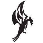 Dragon creature silhouette